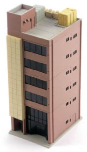Kato 23-432B Dio Town Metro 6 Floor Office Building Red